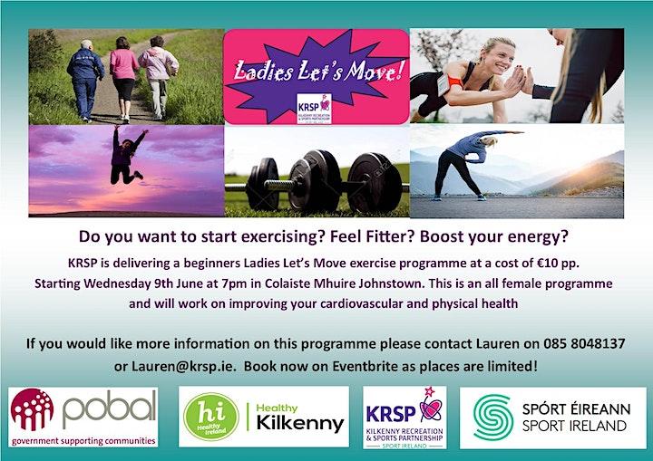 2021 KRSP Ladies Let's Move Johnstown/Urlingford image