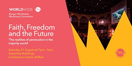 Faith, Freedom and the Future (Evening Ticket) tickets