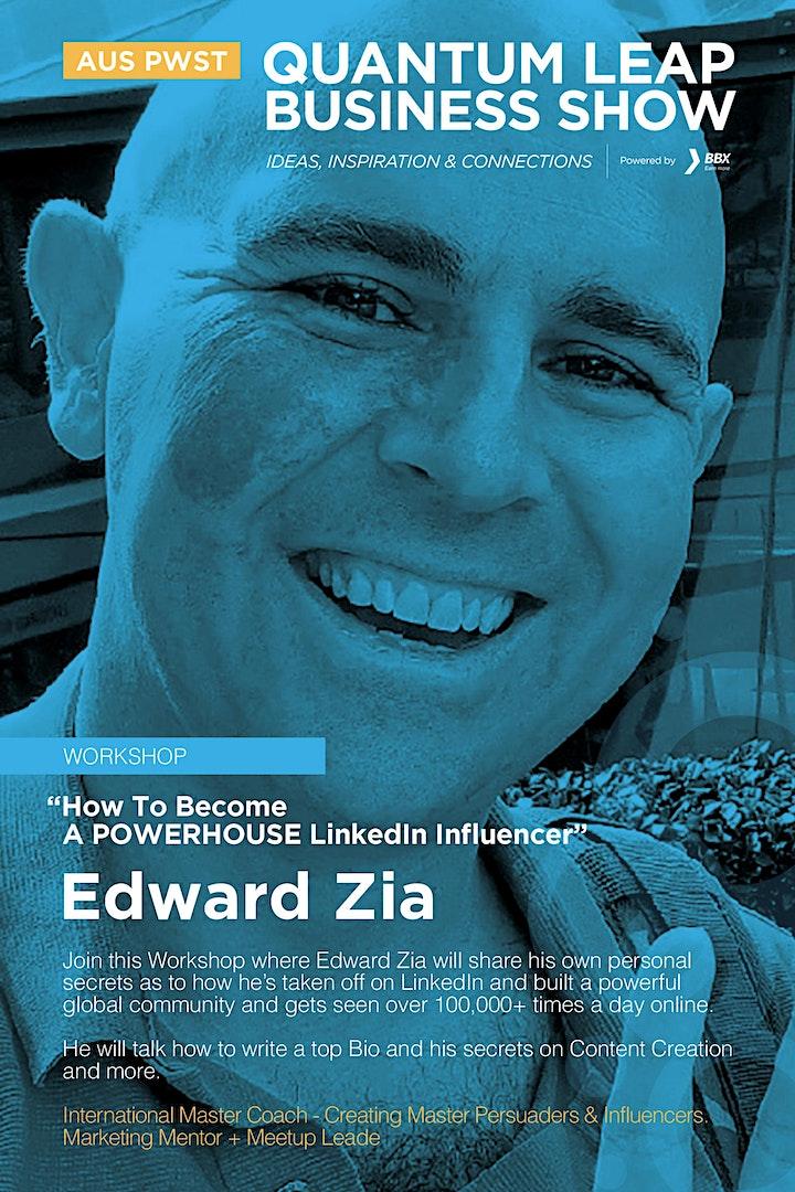 How to become a POWERHOUSE LinkedIn Influencer - Edward Zia image