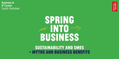 Sustainability and SMEs – Myths & Business Benefits tickets