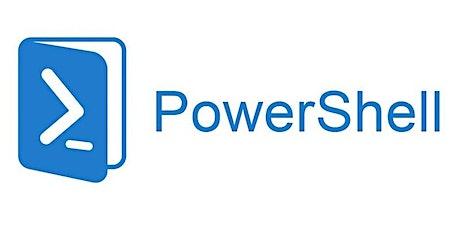 4 Weeks PowerShell for Beginners Training Course Fredericksburg tickets