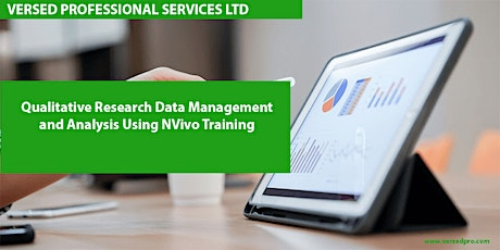 Qualitative Research Data Management and Analysis Using NVivo Training tickets