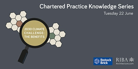 Chartered Practice Knowledge Series - 2030 Climate Challenge: the benefits tickets
