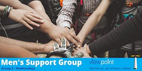 Men's Peer Support - Group 2 (Wednesdays) tickets