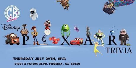Disney Pixar Movie Trivia at CB Live tickets