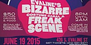 EVALINE COSTUME CABAL! featuring Dennis Dunaway/...