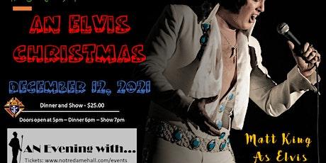 An Evening With... An Elvis Christmas with Matt King  As Elvis tickets