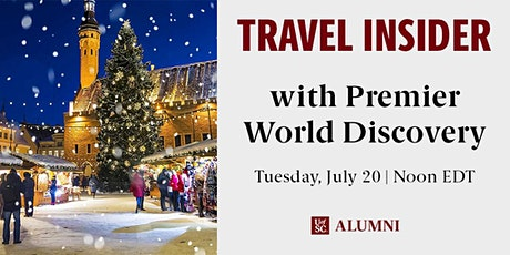Travel Insider: Premier World Discovery tickets