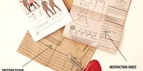 Understanding Sewing Dressmaking Patterns tickets