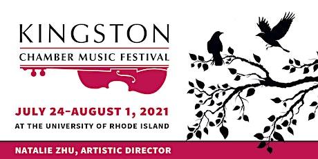 """Opening Night"" 2021 Kingston Chamber Music Festival tickets"
