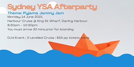 Sydney YSA Mini Convention Afterparty 2021 tickets