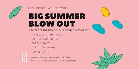 LCSU Big Summer Blowout tickets