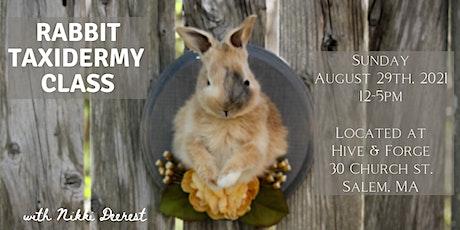 Rabbit Taxidermy Class tickets