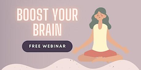 Boost Your Brain Workshop tickets