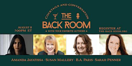 Amanda Jayatissa, Susan Mallery, B.A. Paris, and Sarah Penner tickets