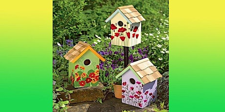 Birdhouse Make and Paint and Decorate at THE BARN at Watergrasshill B&B tickets