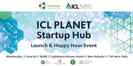 ICL Planet Startup Hub Launch tickets