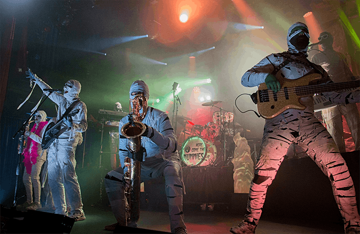 Here Come The Mummies in The Caverns with Desmond Jones image