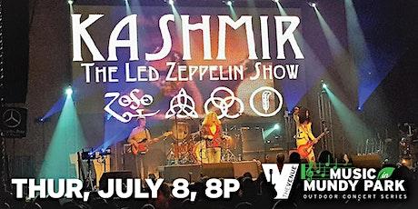 KASHMIR  - Music in Mundy tickets