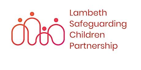 Lambeth Safer Recruitment Training: Level 4 (wider children's workforce) tickets