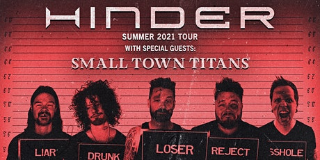 Hinder with Small Town Titans tickets