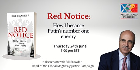 'Red Notice: How I became Putin's number one enemy' - Bill Browder tickets
