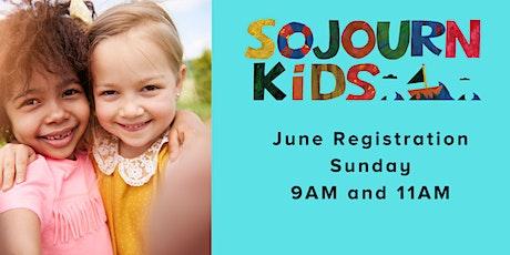 June 27, 2021  Sunday Service Registration tickets