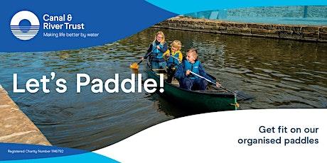 Let's Paddle - Canoe Taster Session in Nottingham tickets