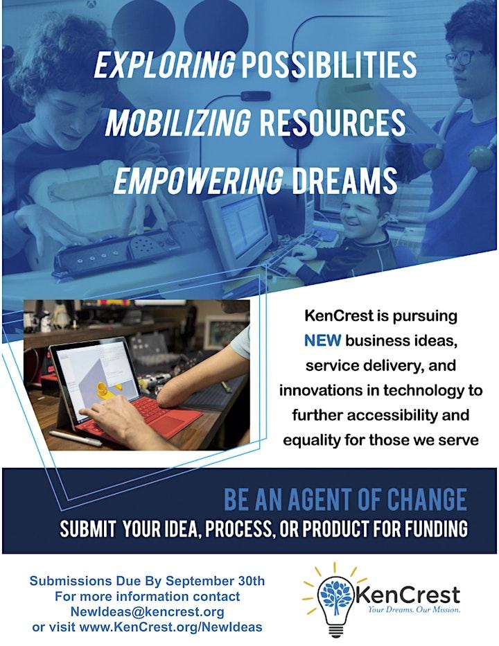 KenCrest New Business Ideas Grant Lunch & Learn Webinar —June 2021 image