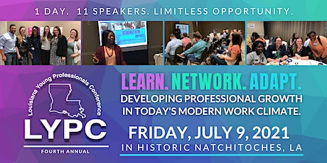 Fourth Annual Louisiana Young Professionals Conference tickets