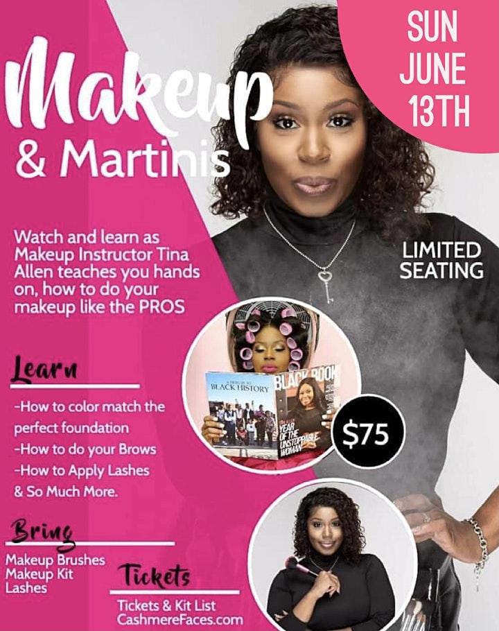 MAKEUP AND MARTINIS 5TH ANNUAL image