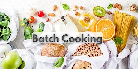 Curso de Batch Cooking entradas
