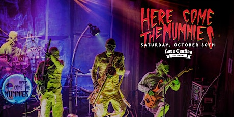 Here Come the Mummies - Halloween Concert LIVE-ish at Lava Cantina tickets