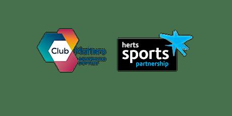 Volunteer Experience - Club Matters Workshop tickets