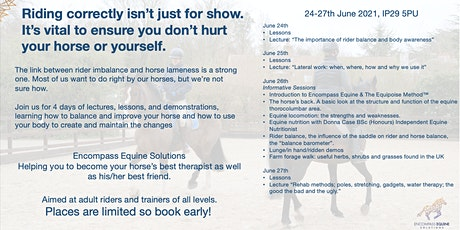 Encompass Equine Solutions Clinic tickets