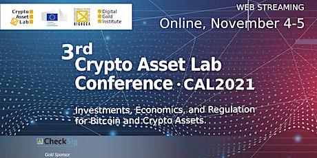 The 3rd Crypto Asset Lab Conference biglietti