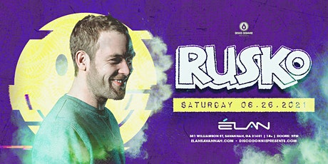 Rusko at Elan Savannah (Sat, Jun 26th) tickets