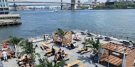 SATURDAYS: BRUNCH & SUNSETS @ WATERMARK BEACH - PIER 15 NYC tickets