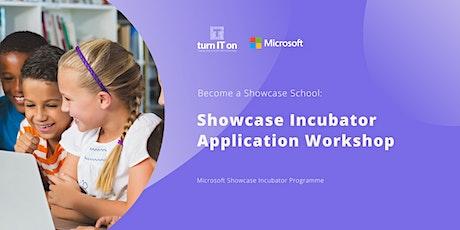Showcase Incubator Application Workshop tickets
