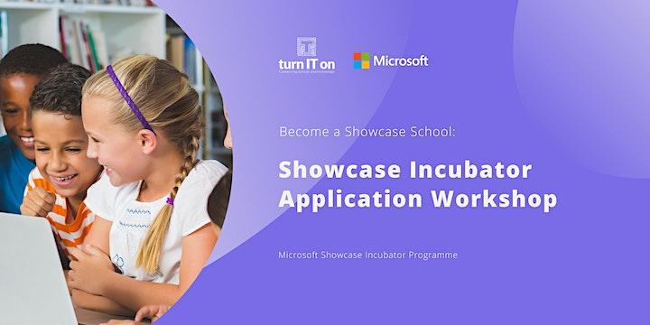 Showcase Incubator Application Workshop image