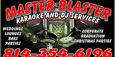 Live Music: Master Blaster 6:30 – 9:30