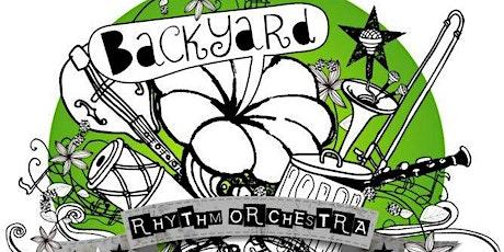 BACKYARD RHYTHM ORCHESTRA w/ support from HONEYFLUX @ TYNE-BANK BREWERY tickets