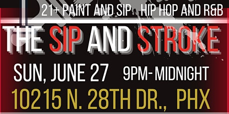 The Sip and Stroke: Paint Party tickets