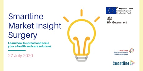 Market Insight Surgery - ehealth and care solutions July 2021 tickets