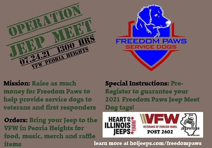 Operation Jeep for Freedom Paws image