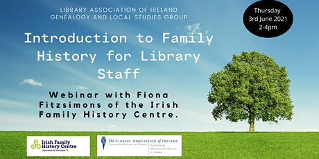 Rooting it all Out: Introduction to Family History for Library Staff tickets