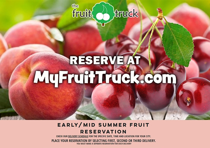The Fruit Truck Tour Is Coming To Town! image