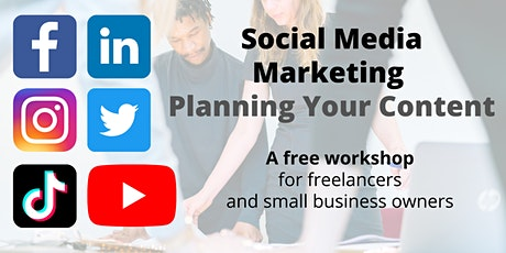 Social Media Marketing: Planning Your Content tickets