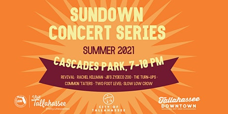 Sundown Concert Series– JB's Zydeco Zoo, the Common 'Taters & the Turn-Ups tickets