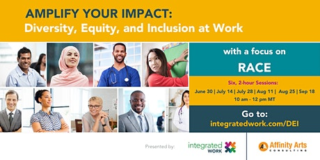 Amplify Your Impact: Diversity, Equity, and Inclusion at Work tickets